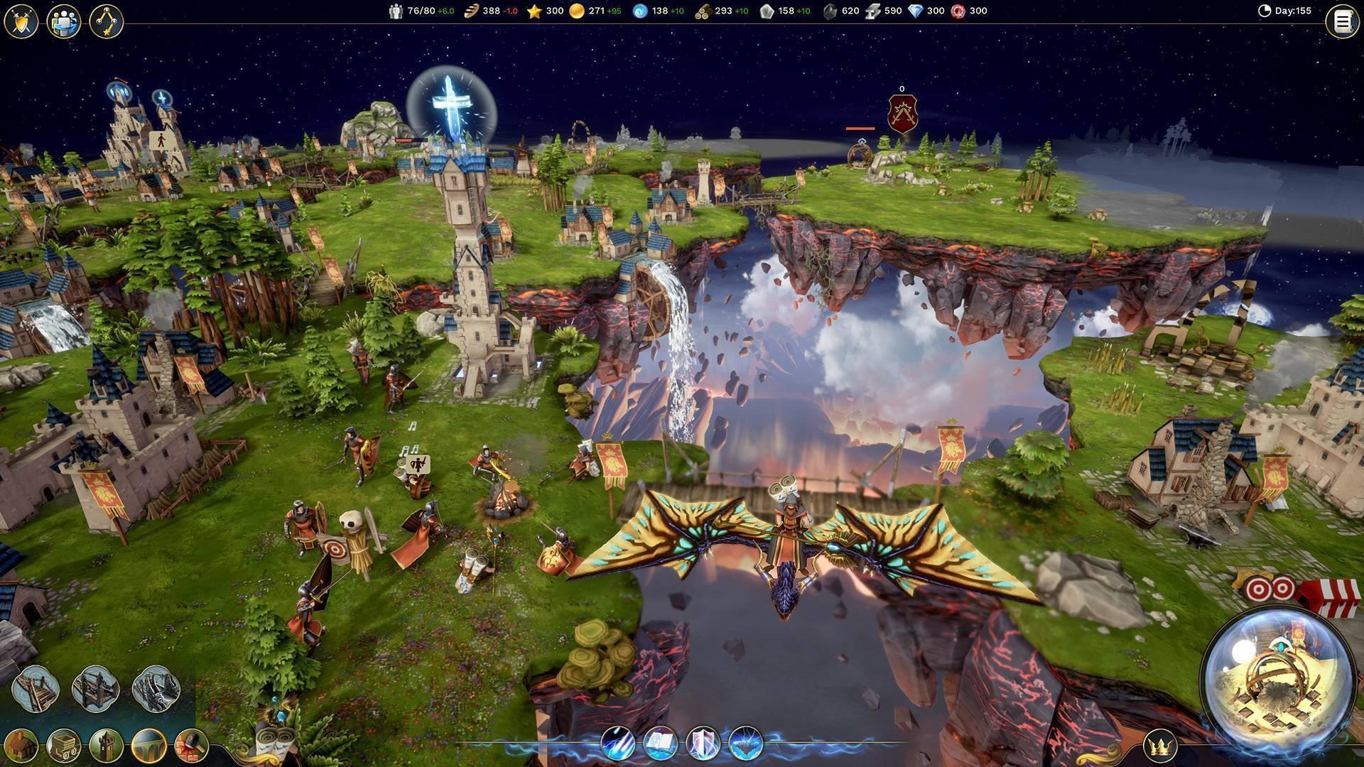 Driftland: the magic revival gameplay