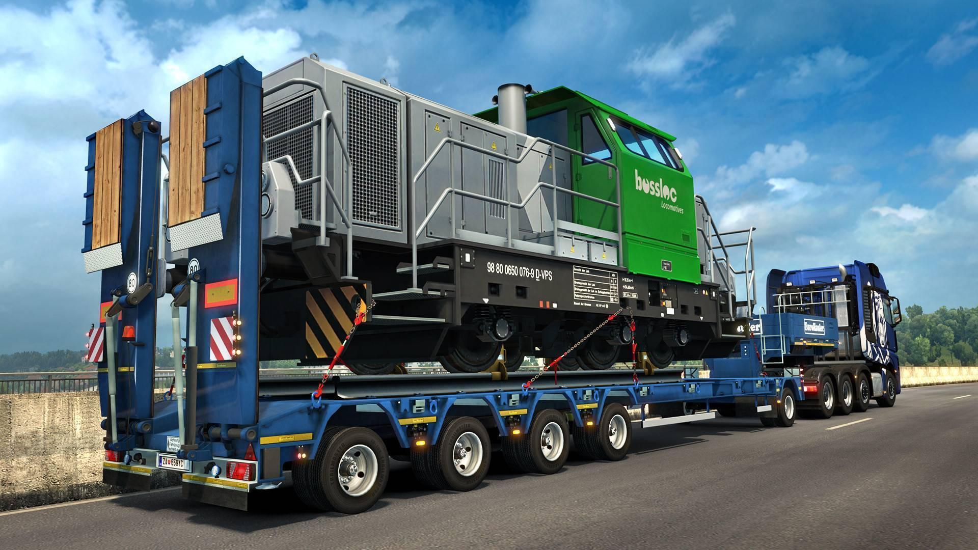 compre euro truck simulator 2 heavy cargo pack dlc pc cd. Black Bedroom Furniture Sets. Home Design Ideas