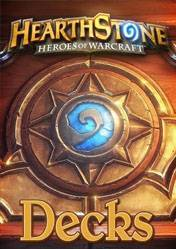 Hearthstone Heroes of Warcraft 5 Decks Cards