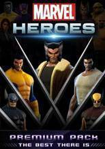 Marvel Heroes: X Force Premium Pack