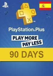 PlayStation Plus 90 days card ES