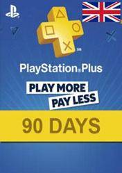 PlayStation Plus 90 days card UK