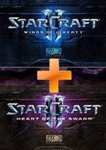 StarCraft 2 Bundle: Wings of Libert + Heart of the Swarm
