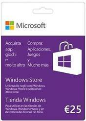 Windows Store Gift Card 25 Euro