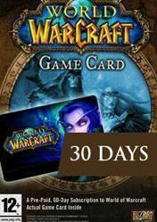World of Warcraft: 30 Day Pre-Paid Time Card EU