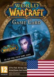World of Warcraft 60 Day Pre-Paid Time Card US