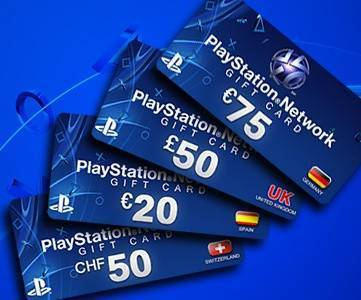 Playstation Cards